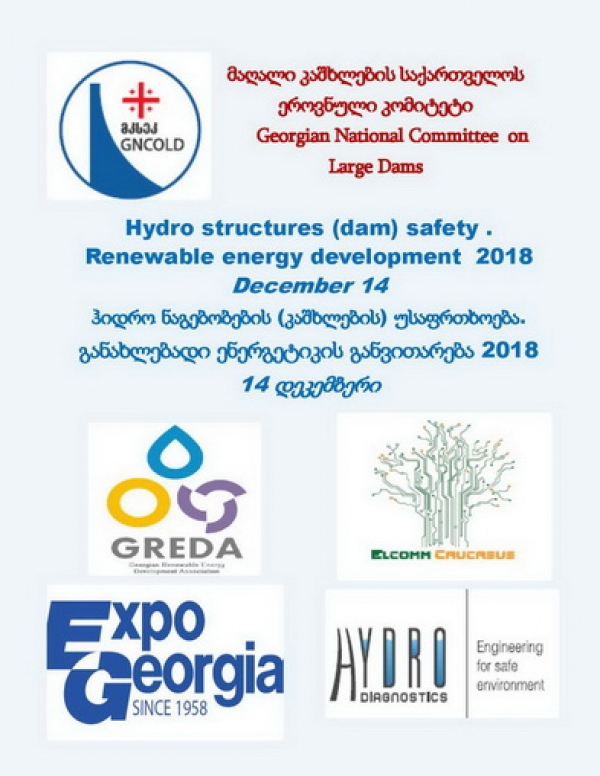 Hydro Structures (dam) safety.    Renewable Energy Development 2018.
